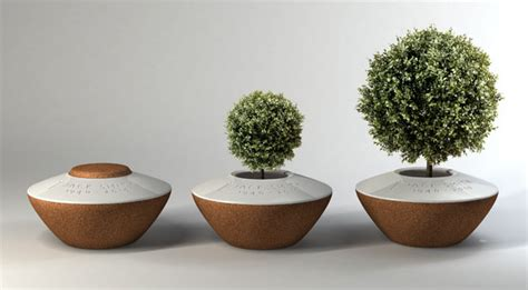 Cremation Tree Planter by Poetree Funeral Urn By Margaux Ruyant Tuvie