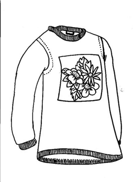 Coloring Page Placed In Sweaters Sweater Coloring Page Sweater Coloring Page