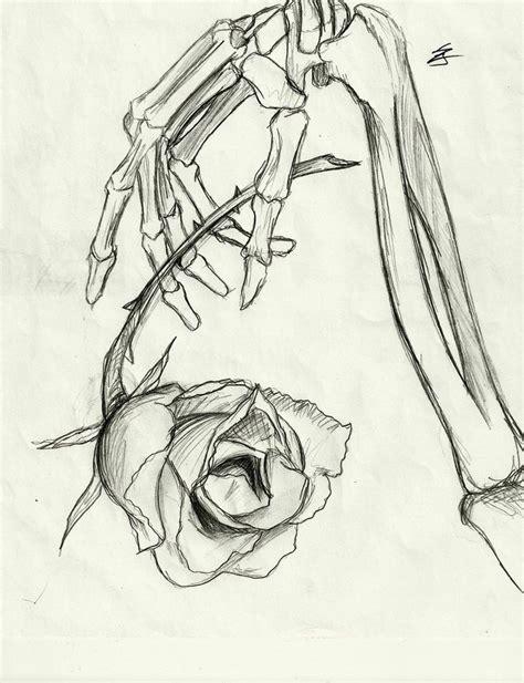skeleton hand drawing on hand tumblr www imgkid com