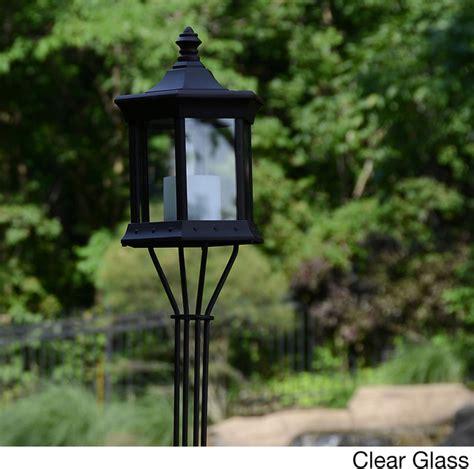 Patio Lights Overstock Solar Lantern Tiki Pole Contemporary Novelty Lighting