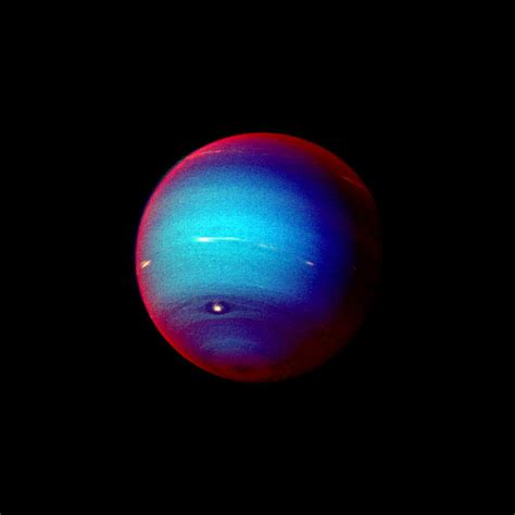 what color is neptune space images neptune false color image of