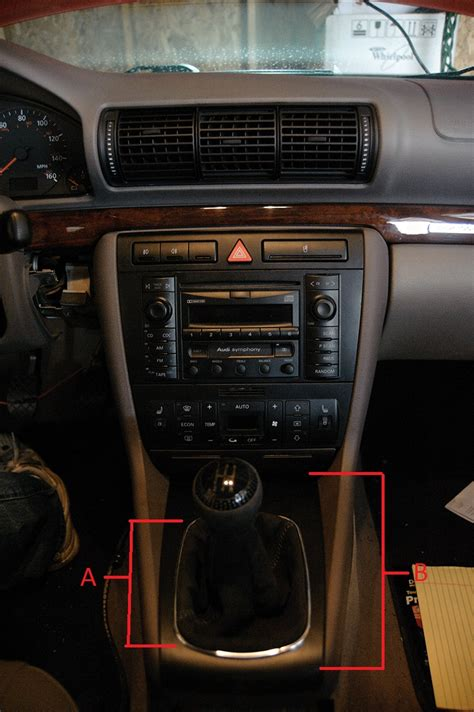 How To Change A Shifter by How To Change Shifter Boot On An 01 Audi A4 Quattro B5