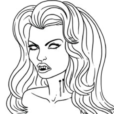 Top 25 Free Printable Vampire Coloring Pages Online