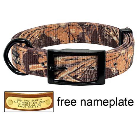 Collar Lab Jogger Camo realtree max 4 camo 2 ply d end collar 10 99