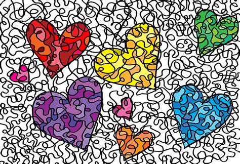 Muster Zeichnen Herzen Archive 365 Tage Kreativ