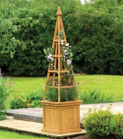 Primrose Garden Planters by Obelisk Wooden Planter H1 6m X W40cm 163 32 99