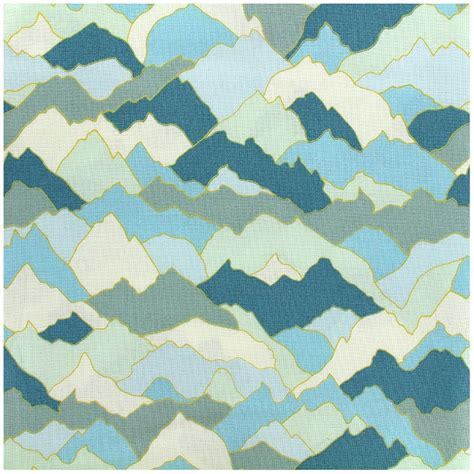 Fabric Paper - dashwood cotton fabric paper altitude moutain x 10cm