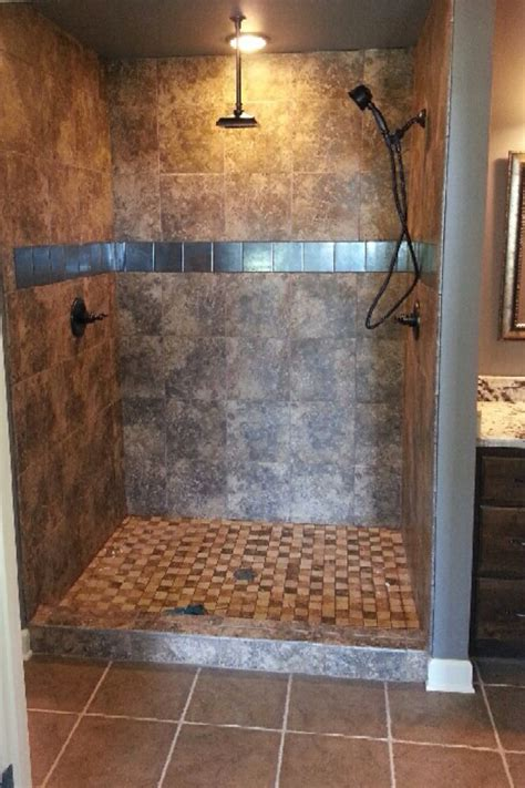awesome shower awesome tile shower design for the home colors and plumbing