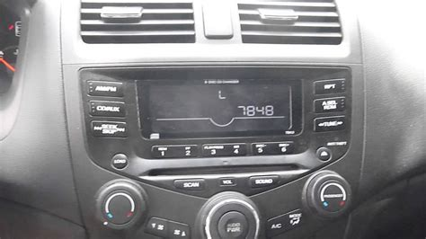 how to unlock honda accord radio honda accord radio unlock and codes