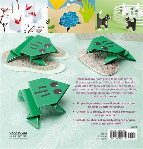 Animal Origami Book - origami animal friends book by mari ono official