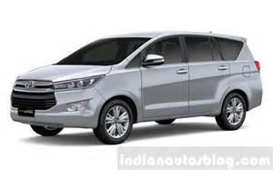 Toyota Innova Silver Metallic 2016 Toyota Innova Silver Metallic Press Images
