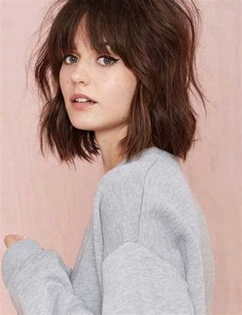 do fringes look tidy on older women 20 new messy bob hairstyles bob hairstyles 2017 short