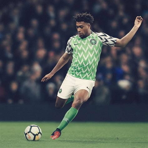latest nigeria nigeria 2018 world cup home kit revealed footy headlines
