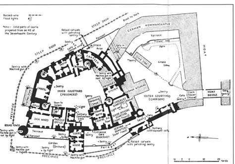singer castle floor plan ww2 tourism visit and spend the night in colditz castle