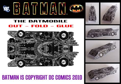 Batmobile Papercraft - batman the batmobile by mikedaws on deviantart