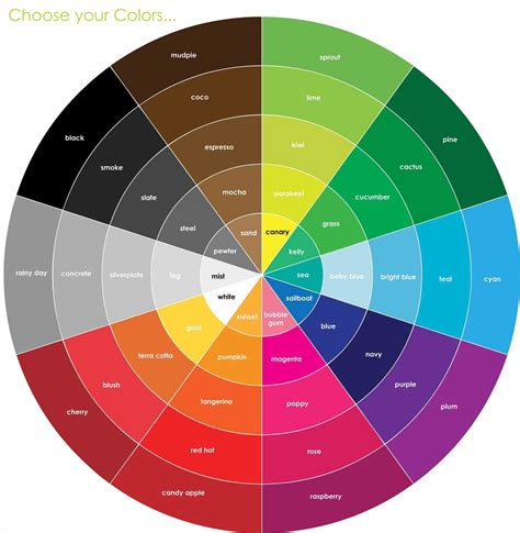 basics design colour n opposite brown color wheel of unacco basic design principles using in the garden proven winners
