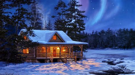 winter cabin winter cabin wallpapers 46 wallpapers adorable wallpapers