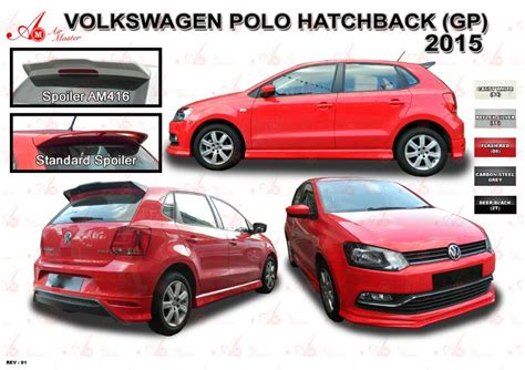 volkswagen polo body kit polo hatchback 2015 gp