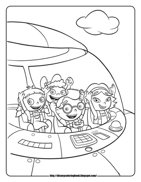 Disney Coloring Pages And Sheets For Kids Little Einsteins 4 Free Disney Coloring Sheets Einsteins Coloring Pages