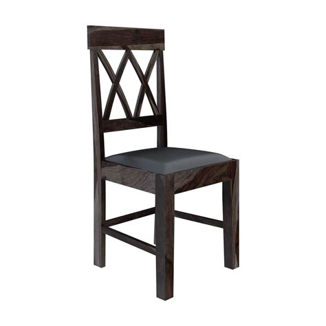 rustic leather dining chairs antwerp farmhouse solid wood pineapple back rustic dining