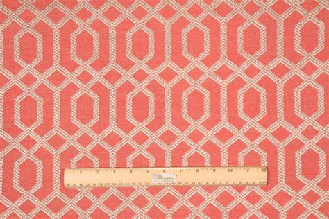 robert curtain hamilton parquet upholstery fabric in melon