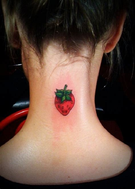 fruit tattoos 50 delicious fruit designs