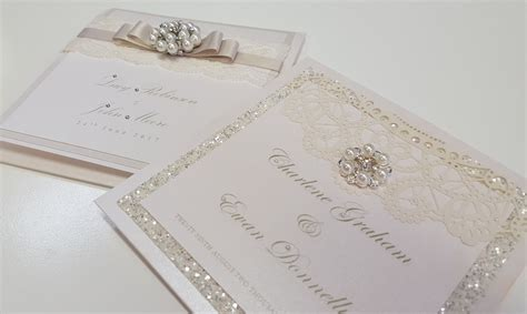 Uk Wedding Invitations by Popular Wedding Invitation Luxury Embossed Wedding