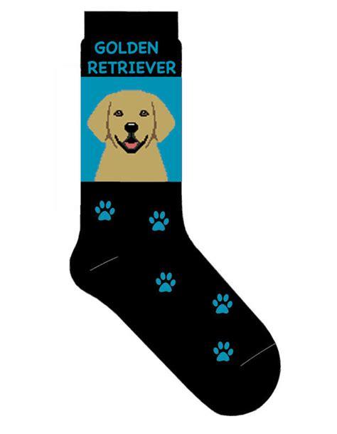 golden retriever socks golden retriever socks lightweight cotton crew stretch made blue ebay