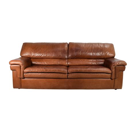 cherry brown leather sofa leather sofa second new2you furniture second
