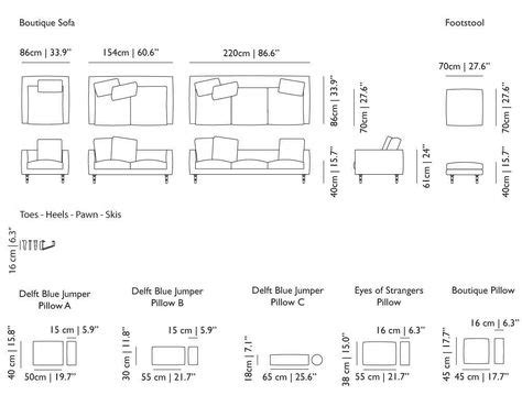Standard Length Of A Sofa by What Are Standard Sofa Sizes Quora