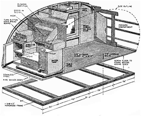 teardrop cer floor plans life in a teardrop trailer how to build a tear drop trailer