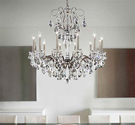 crystal chandeliers for dining room schonbek crystal chandeliers victorian dining room