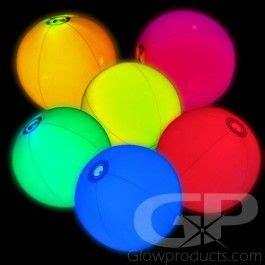 glow beach balls  glow stick insert light  toy