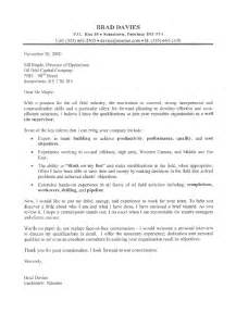 Caign Field Director Cover Letter by This Field Supervisor Cover Letter Sle Represents