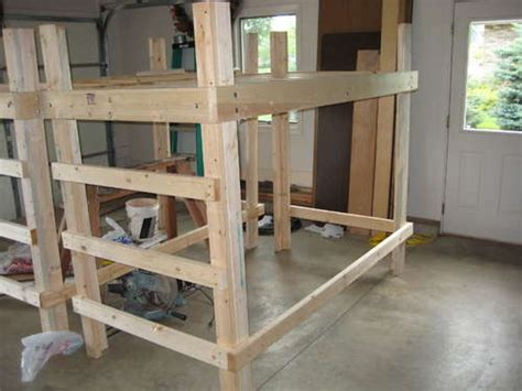 college loft bed plans bed plans diy blueprints