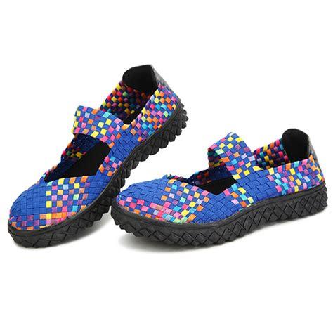 27 Coolest Platform Shoes For Summer 2009 by Summer Breathable Sandals Knit Platform Elastic