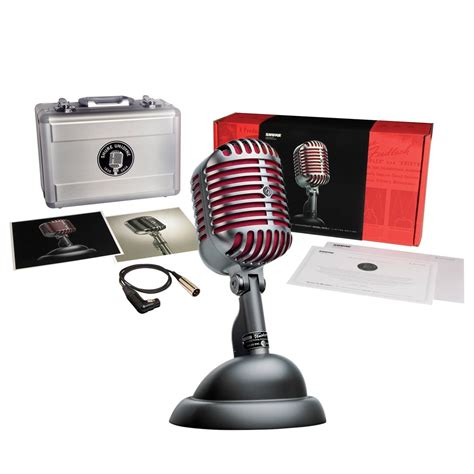 Shure 5575le Limited Edition 75th Anniversary Microphone shure 5575le unidyne ltd edition 75th anniversary dynamic