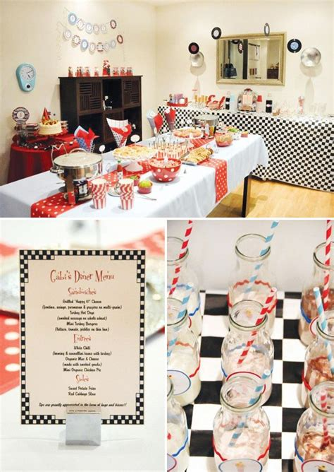 diner theme decorations best 25 diner ideas on retro