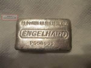 1 oz silver bar engelhard eagle design 10 oz engelhard silver bar 999 pour style silver bar