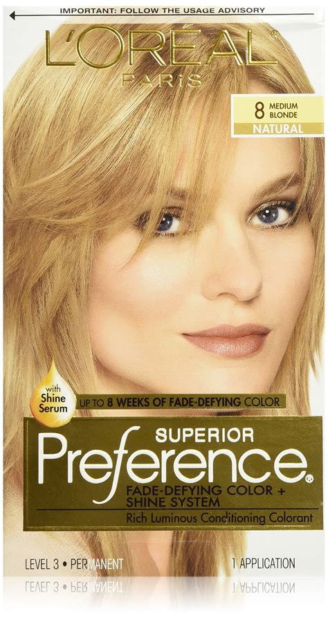 8g hair color l or 233 al superior preference permanent