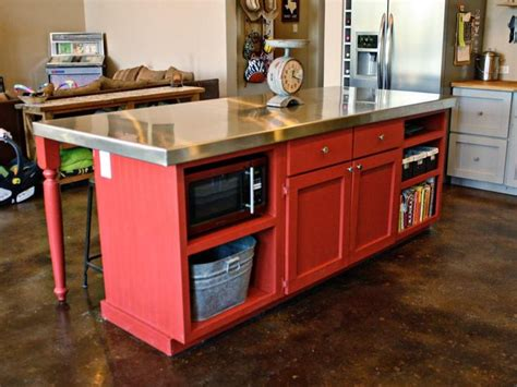 homemade kitchen island 25 best ideas about red kitchen island on pinterest