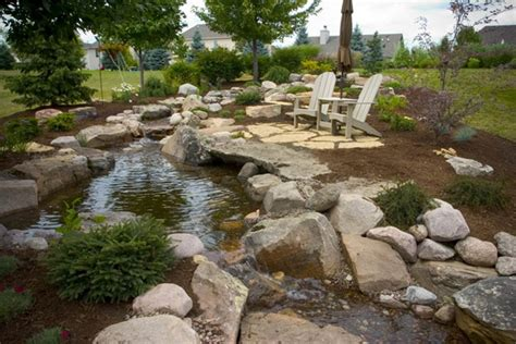 Pictures Of Backyard Waterfalls And Streams by Outdoor Living With Water Gardens Town Country Living