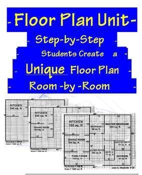 mathematics home floor plan square area unit by