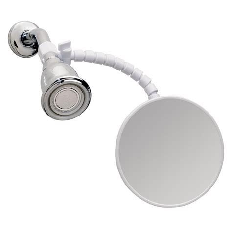 bathroom suction mirror interdesign suction fog free shower shaving mirror for
