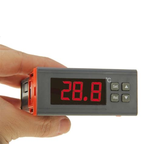 Termometer Oven Digital rc 210m digital lcd temperature controller thermocouple