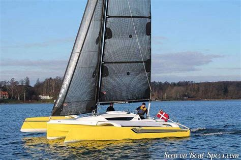 trimaran dragonfly 25 dragonfly 25 touring quorning boats sailboat