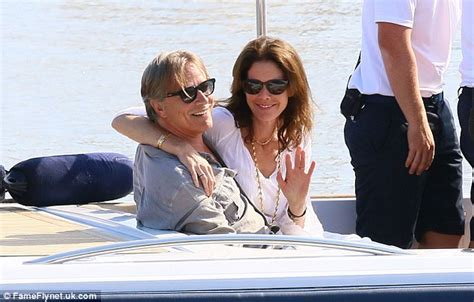 how old is woman in cuddle up viagra commercial actress don johnson and wife kelley look more in love than ever as