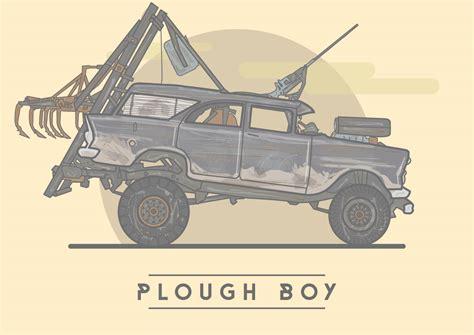 Ps4 Mad Max Basic Digital fury road machines on behance