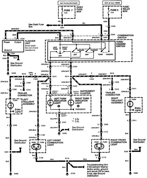 electrical wiring exterior lights wiring schematic isuzu
