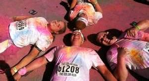 the color run st louis to the races